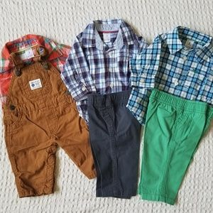 Carter's Baby Boy Fall/Winter Clothing Bundle 3m